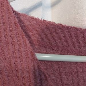Isaac Mizrahi Tops - Isaac Mizrahi Mauve Waffle Knit top. Xl
